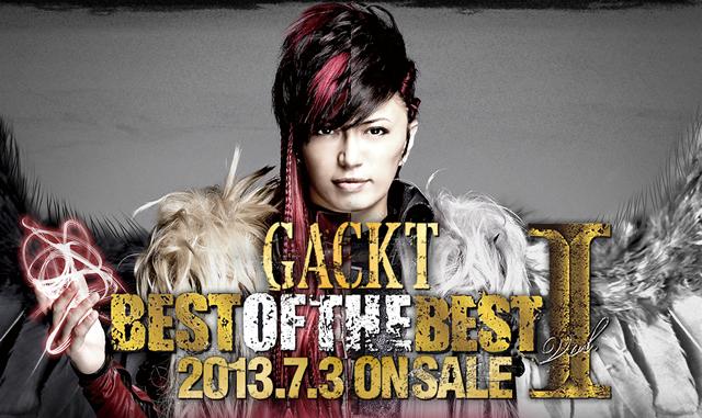 gackt 201373best of the best vol1�����